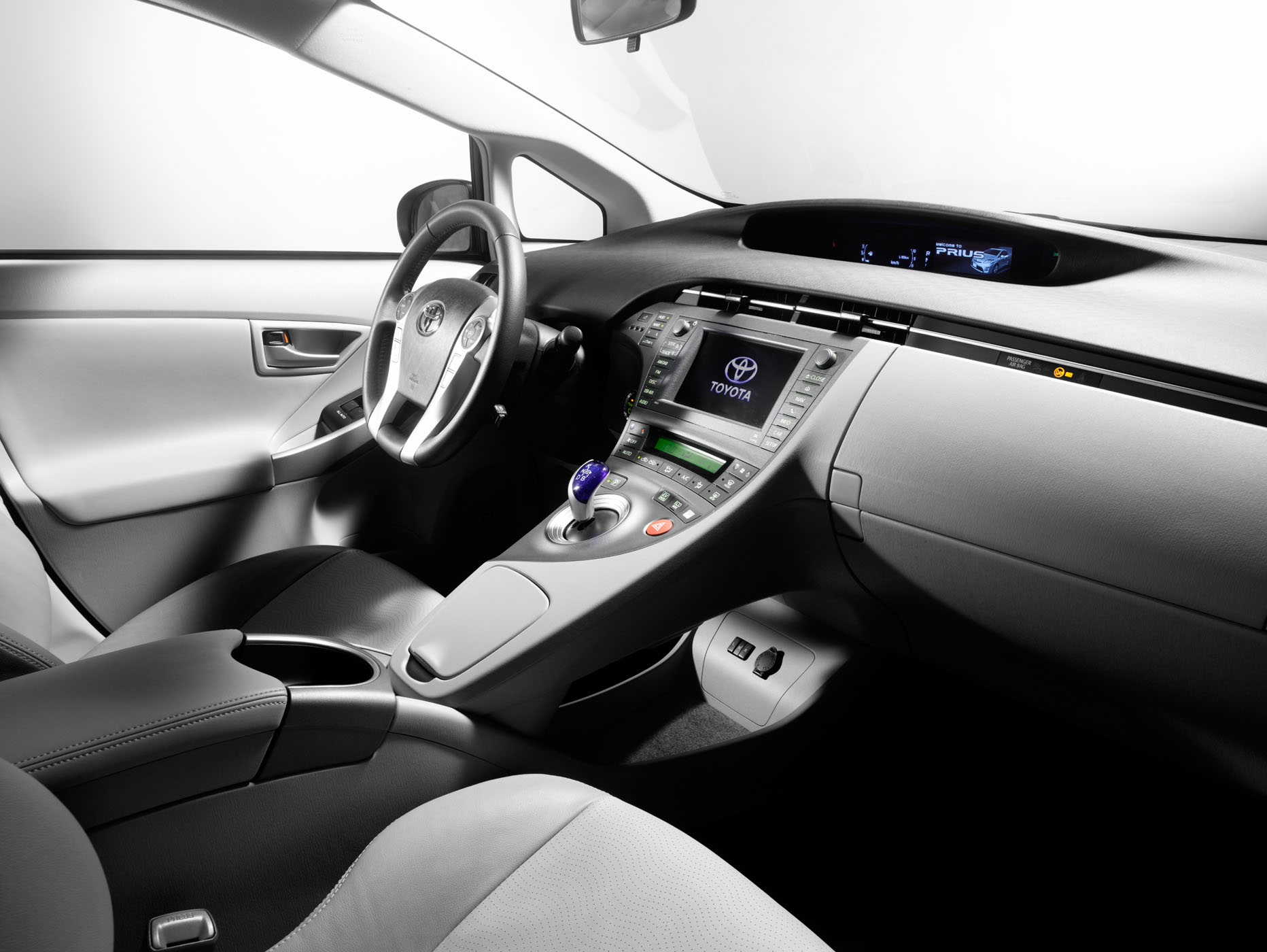 New Prius Interior